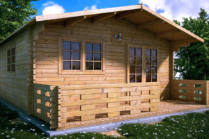 3fa8b2723976 KARYSTOS 36m2 PREMIUM (44mm) 6000 €.Ενα ξυλινο σπιτι 2 δωματιων με ενα  ανετο ευρυχωρο δωματιο για σαλο τραπεζαρια και κουζινα και ενα δωματιο για  WC ...