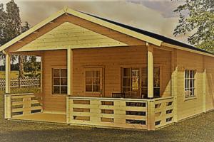 8a6aa9b7198c Το Ιλιον είναι φτιαγμένο από ξύλο υψηλής ποιότητας και μπορεί να το  απολαύσετε όλο το χρόνο. Ιδανικό για ένα γυμναστήριο