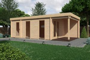 ad93ea786eff Πολυχρηστικό ξύλινο σπίτι ιδανικό για επαγγελματική χρήση.Κατασκευή που  δύναται να τοποθετηθεί πάνω σε trailor χωρίς πολεοδομική άδεια.