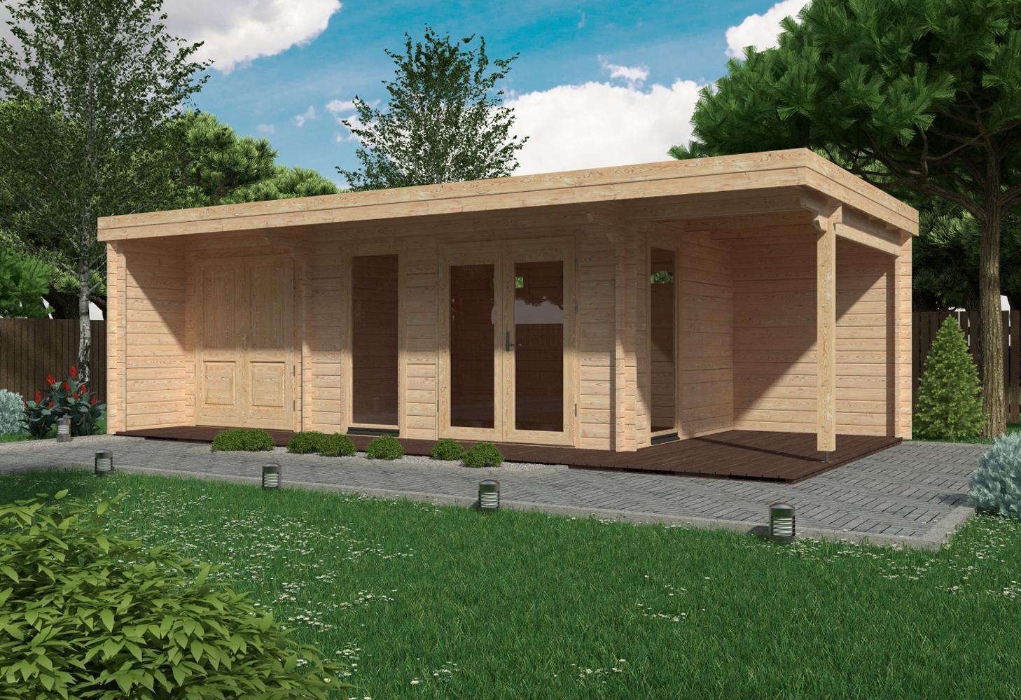 1f44a0c38c0c Πολυχρηστικό ξύλινο σπίτι ιδανικό για επαγγελματική χρήση.Κατασκευή που  δύναται να τοποθετηθεί πάνω σε trailor χωρίς πολεοδομική άδεια.